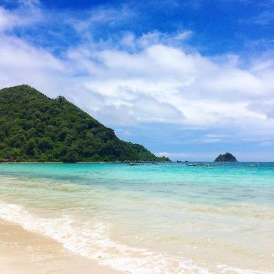foto pantai selong belanak lombok
