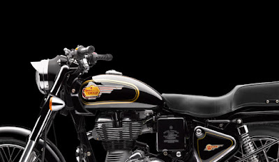 Royal Enfield Bullet 350 side profile