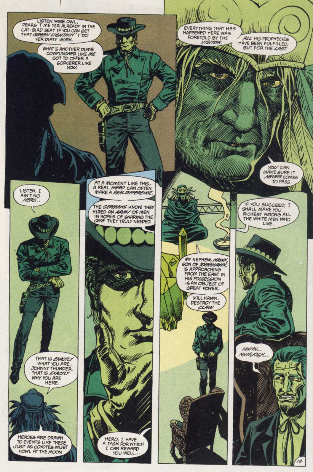 Swamp Thing (1982) Issue #85 #93 - English 14