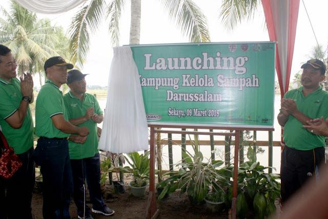 Sekda Muba Launching Kampung Kelola Sampah