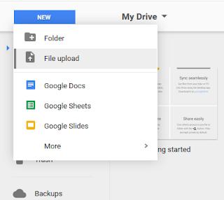 Cara Mengupload File Ke Blog