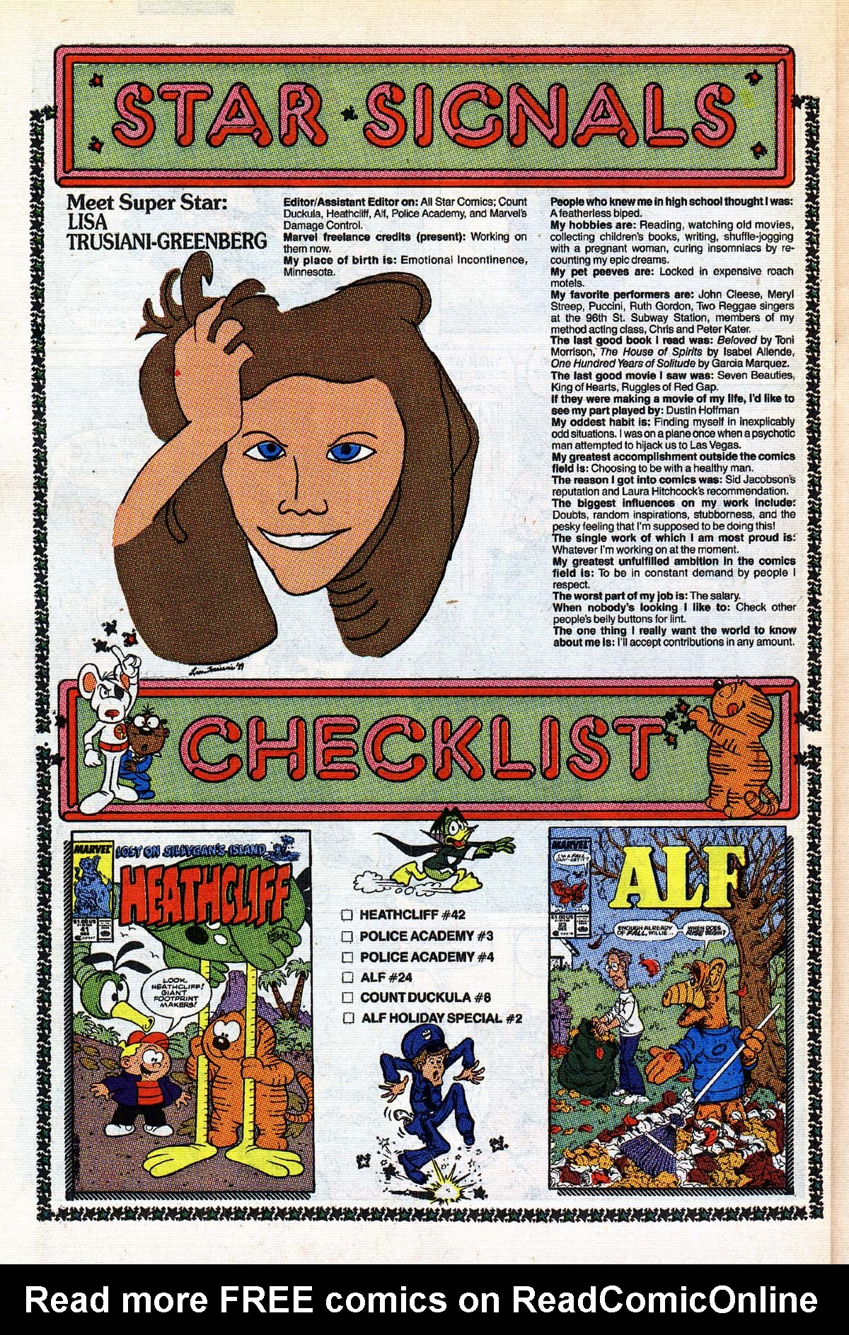 Read online ALF comic -  Issue #25 - 21