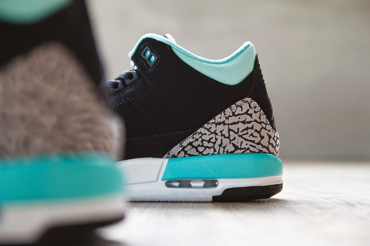 c37c6ed4055 ... low cost usa green jordans shoes for girls 73da9 d5344 low price streak  of mint across