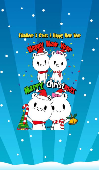 IYouBear 3 X'mas & Happy New Year