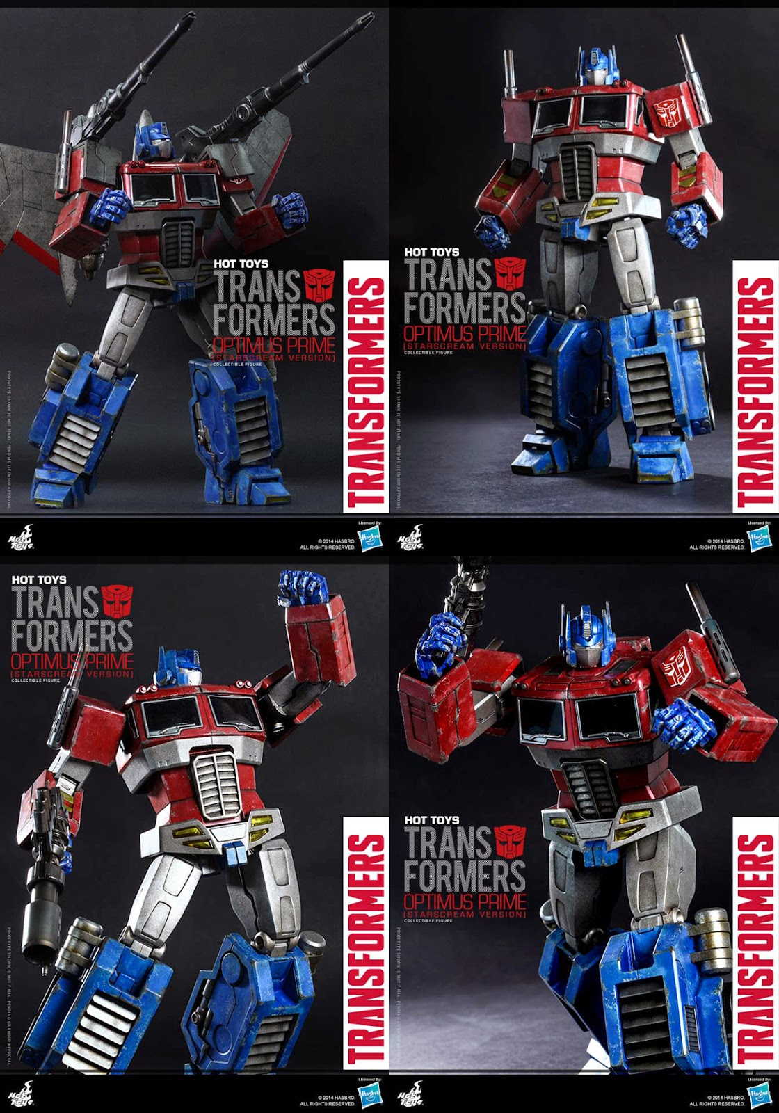 THE TRANSFORMERS G1: Optimus Prime (Starscream Version) from