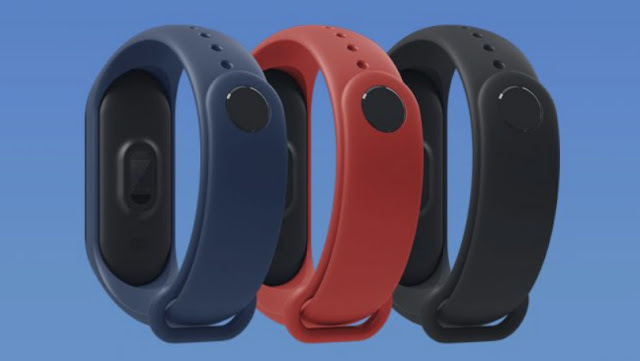 Latest Xiaomi Mi band 3 color Varients in INDIA