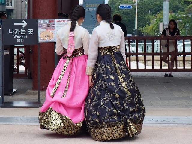 Hanboks, Seoul, South Korea