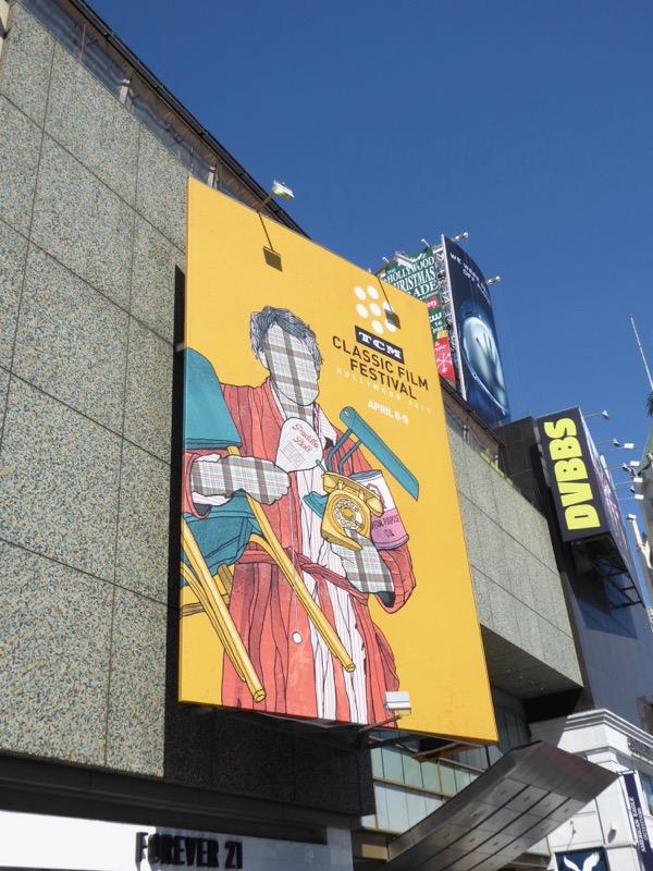 TCM Classic Film Festival 2017 billboard