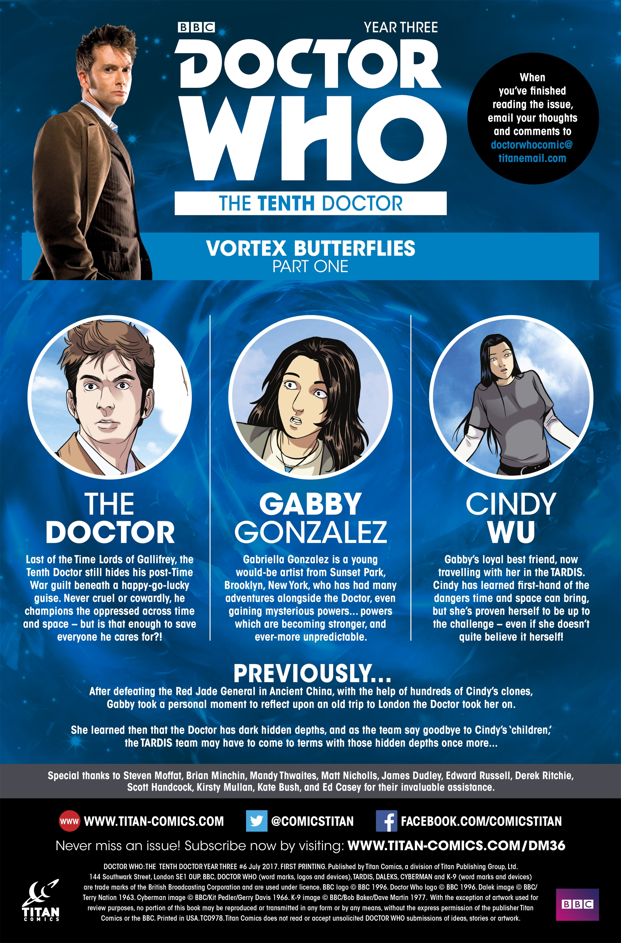 Read online Doctor Who: The Tenth Doctor Year Three comic -  Issue #6 - 5