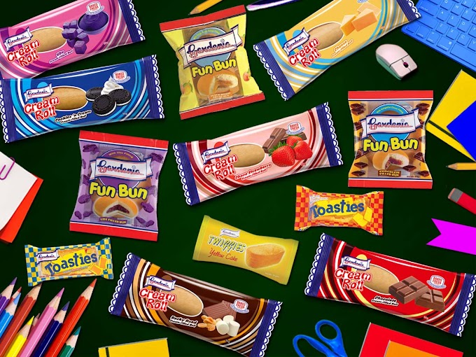 Gardenia offers wide variety of snack choices