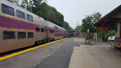 This MBTA train on July 13 should have gone to Forge Park and then returned to Franklin Dean before going to Boston on schedule. It never made it to Forge Park, left Franklin/Dean late and arrived in Boston late.