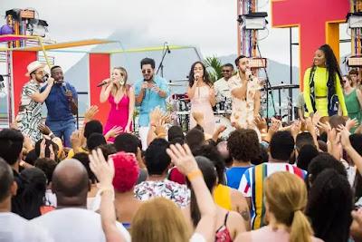 Mumuzinho e Ludmilla reúnem a banda Melim e a dupla Thaeme e Thiago no palco do 'SóTocaTop Verão'