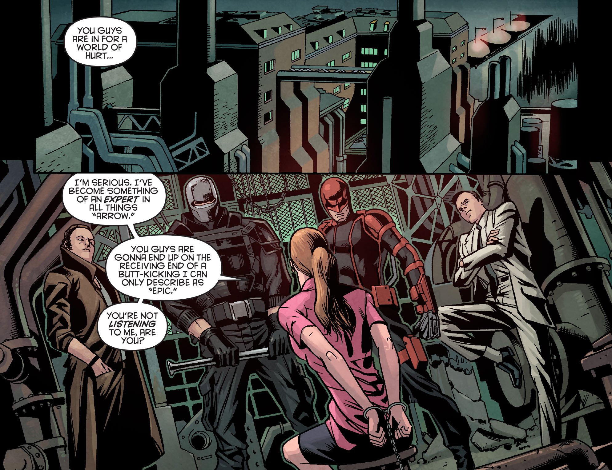 Read online Arrow: Season 2.5 [I] comic -  Issue #14 - 11