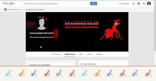 Ejercicio 5. Tu página de marca en google+