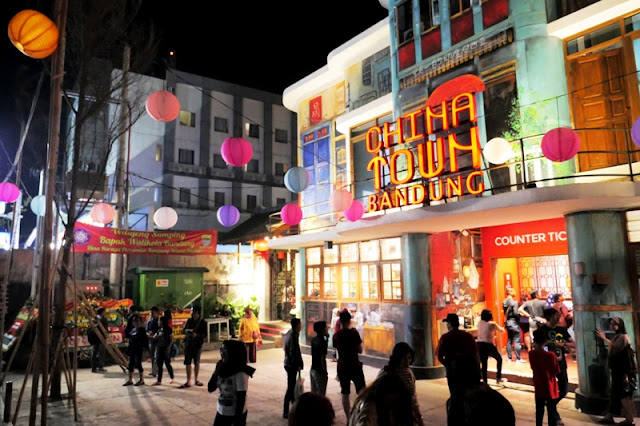 Lokasi dan Harga tiket Masuk Chinatown Bandung Jawa Barat