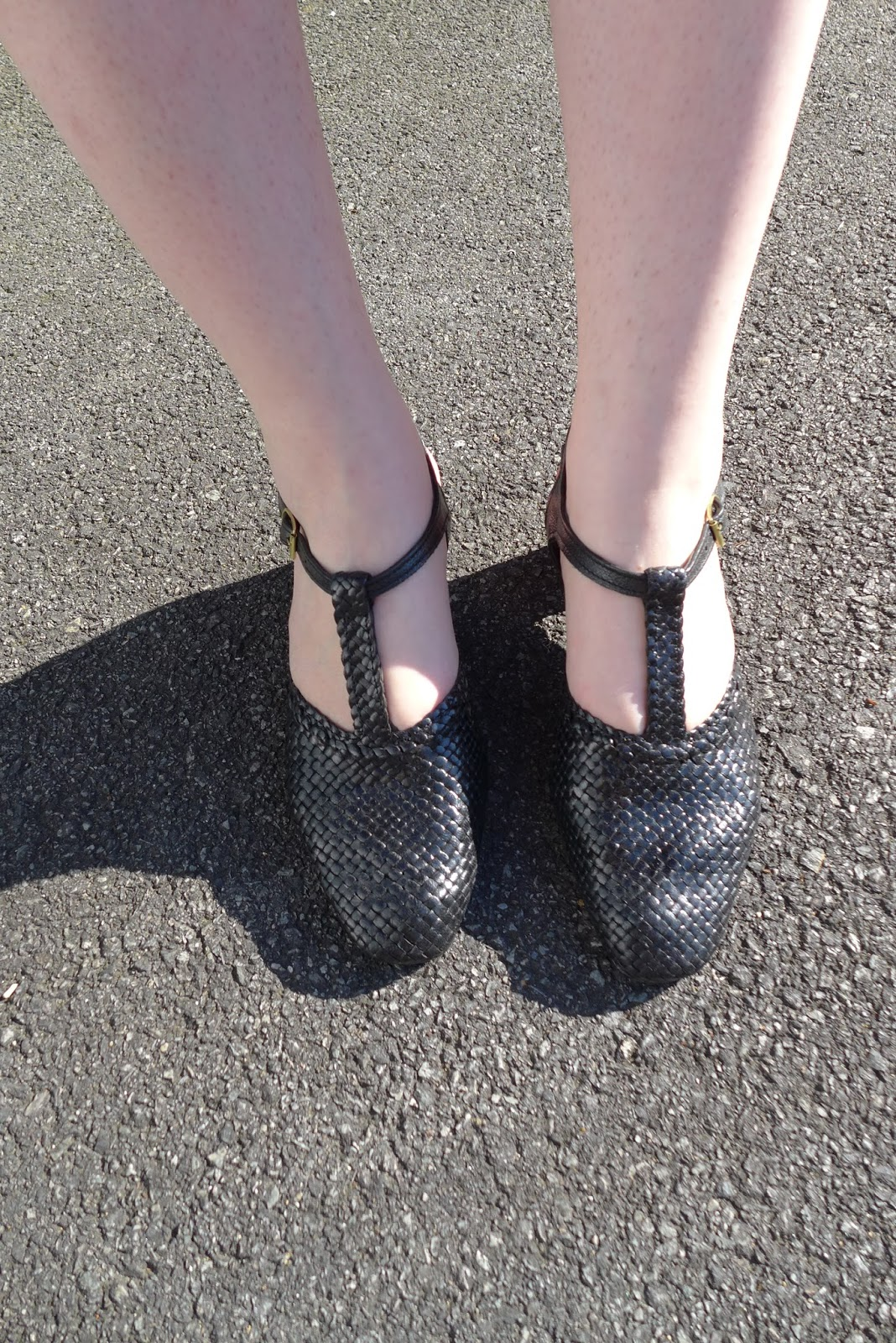 sandale tressée