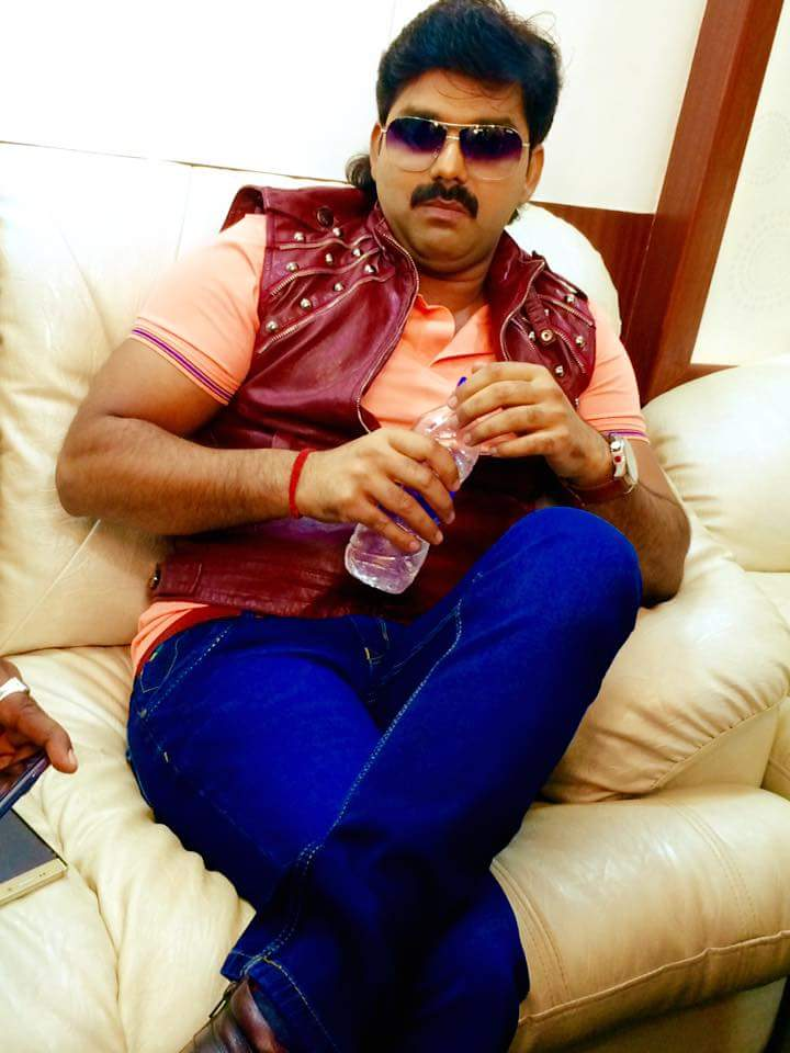 Payas Pandit, Pawan Singh ON Set of Loha Pahalwan Bhojpuri Film Shooting photo