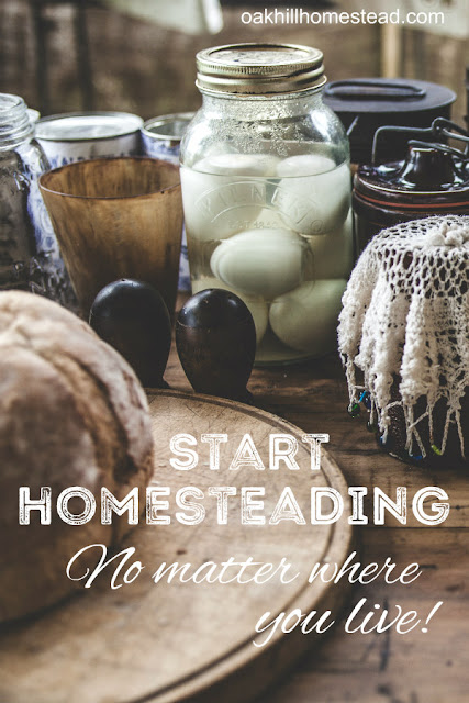 You can homestead, no matter where you live!