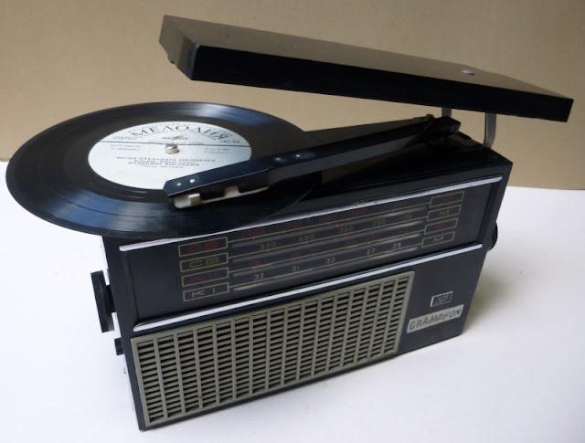 radio tranzystorowe z gramofonem  gramophone radio