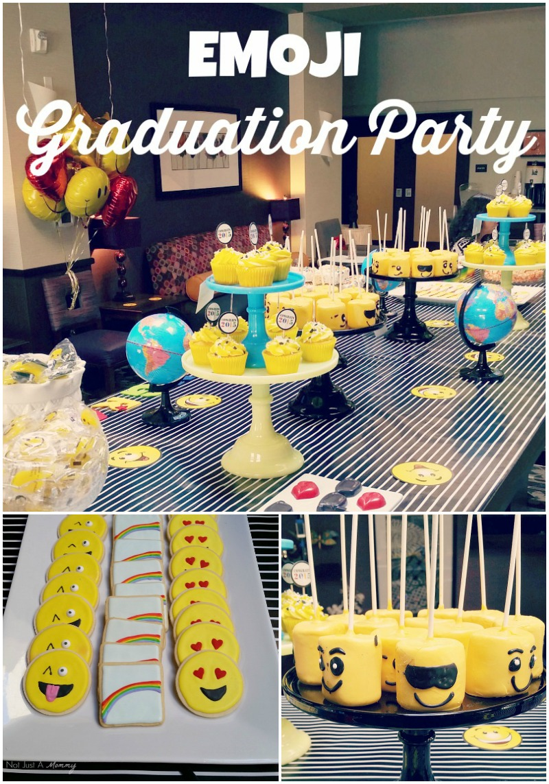 Emoji graduation party
