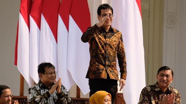 Mantan Komisaris NET TV, Wishnutama Resmi Menjabat Menteri Pariwisata dan Ekonomi Kreatif RI 2019-2024