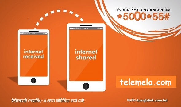 banglalink INTERNET SHARING Offer