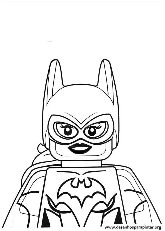 Coloring pages for kids free images: Lego Batman Movie free coloring ...