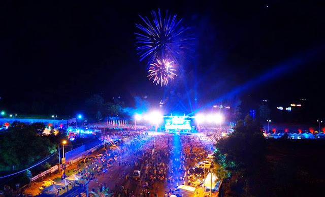 500 000 visiteurs selon les autorités provinciales