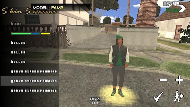 high quality gang members mod for GTA SA Android download gtaam