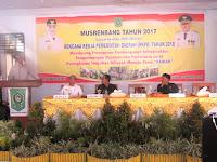 DMN Buka Musrenbang Tingkat Kabupaten Bima Tahun 2017