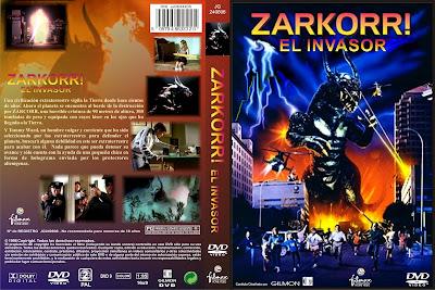 Carátula, Cover, Dvd: Zarkorr, el invasor | 1996 | Zarkorr! The Invader