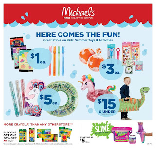 ⭐ Michaels Ad 6/16/19 ✅ Michaels Weekly Ad June 16 2019