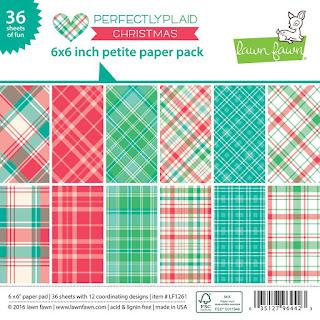 Lawn Fawn - Perfectly Plaid Christmas Paper Pack