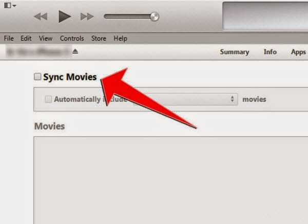 how to get movies from phone with itunes