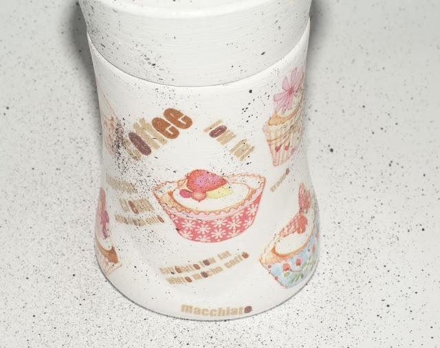 coffee - słoik na kawę - babeczki - babeczkowy motyw