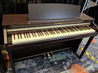 Kawai CA48 piano pic rosewood