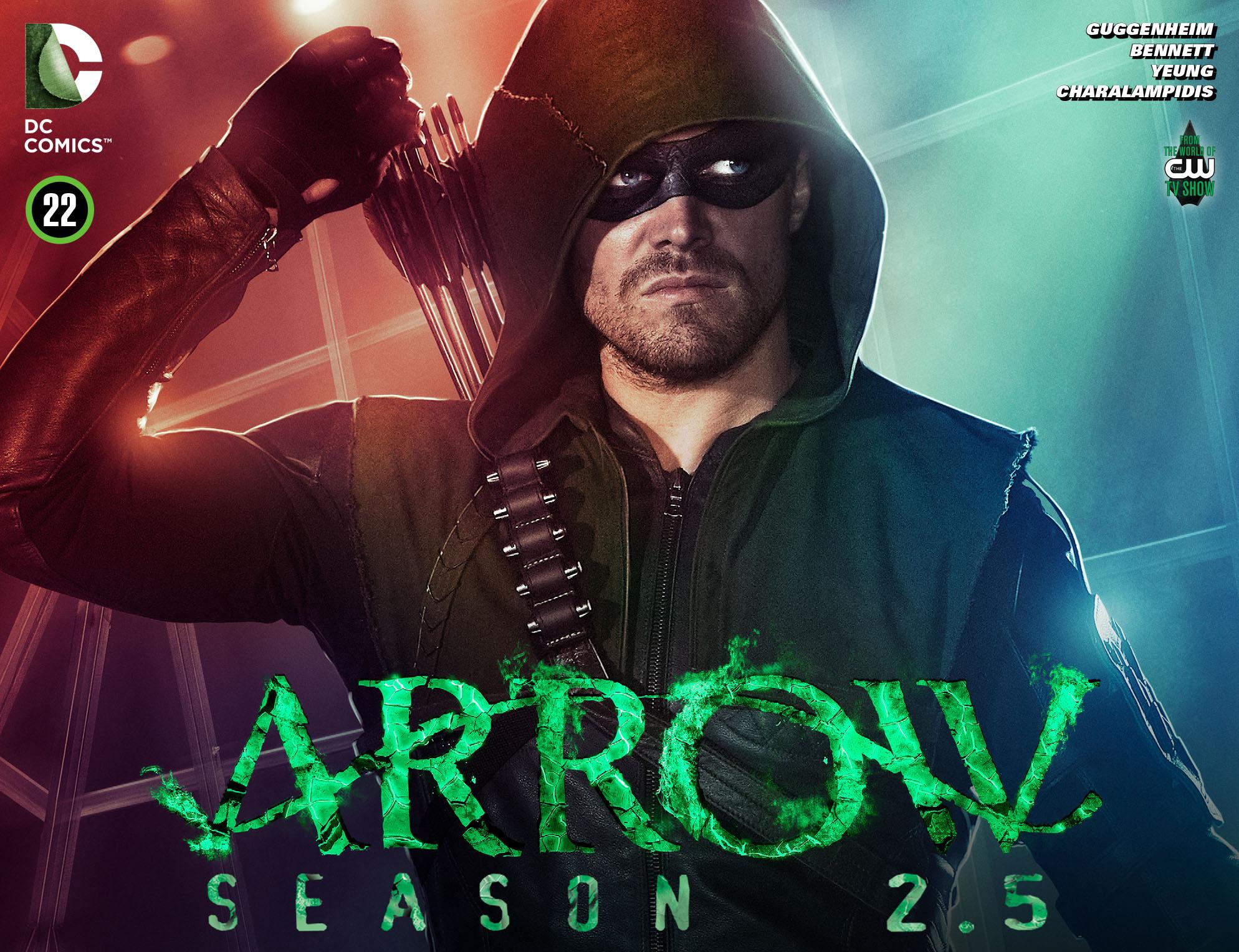 Read online Arrow: Season 2.5 [I] comic -  Issue #22 - 1
