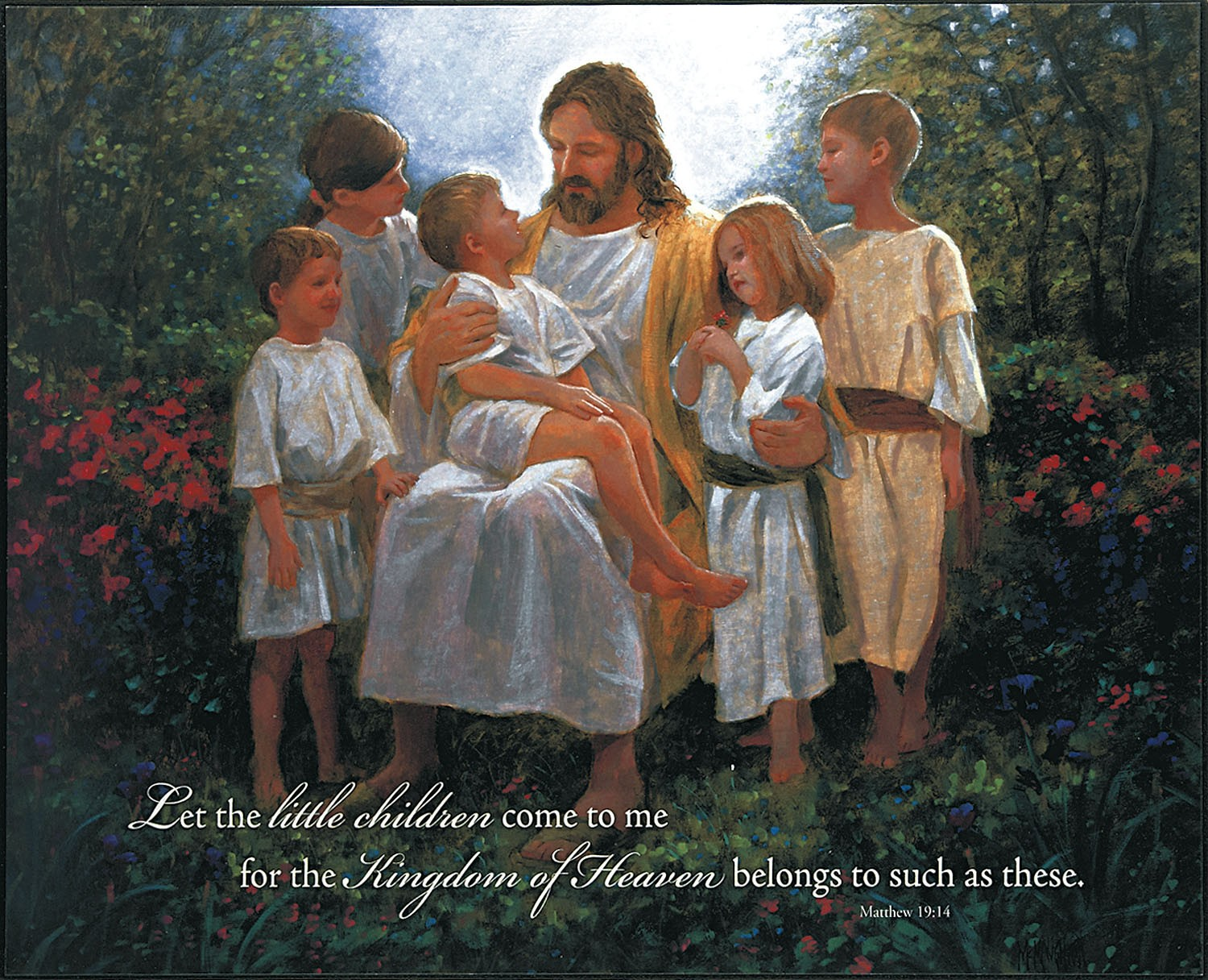 Real Life! with Leslie Nease: Jesus Loves the Little Children