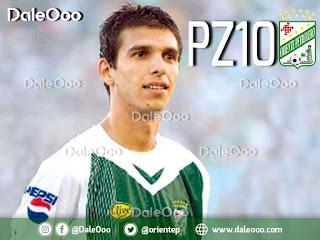 Pablo Zeballos vuelve a Oriente Petrolero - DaleOoo - PZ10