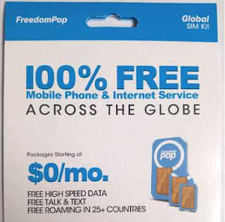 FreedomPop Global SIM Kit