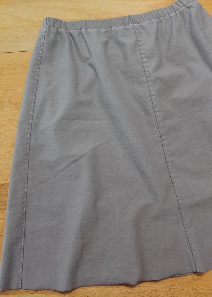 Lisa S Carolina Handmade Alabama Chanin 6 Panel Skirt