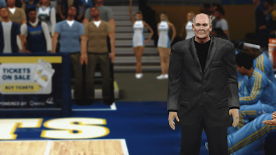 NBA 2K13 Coach George Karl Cyberface Patch