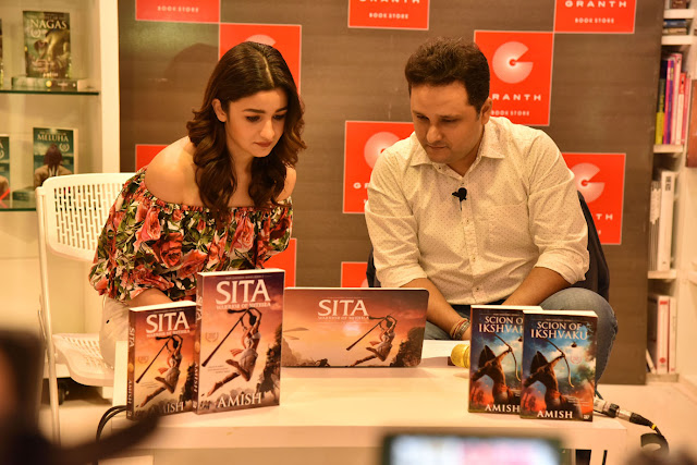 Amish and Alia Bhatt launch the trailer of 'Sita - Warrior of Mithila'