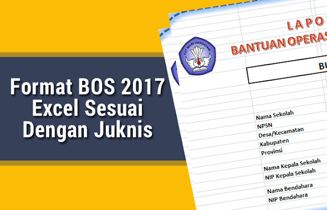 Format BOS 2017 Excel