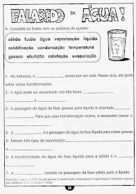 Atividades de ciências 4° ano do ensino fundamental