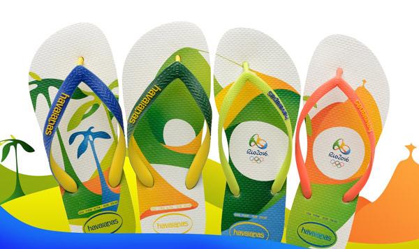 colección de chanclas Havaianas Rio 2016