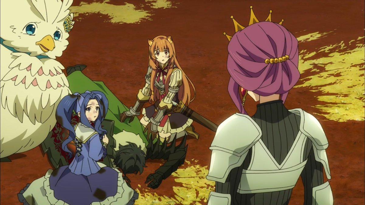 盾の勇者の成り上がり20話感想 盾の勇者だけを労う女王さまめちゃすこ