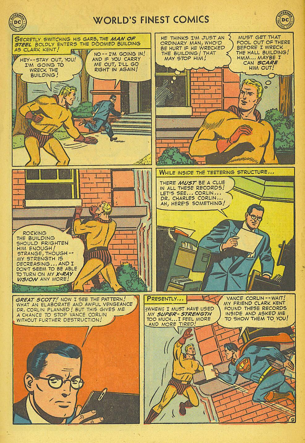 Read online World's Finest Comics comic -  Issue #57 - 11