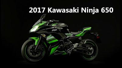 2017 Kawasaki Ninja 650 ABS side profile image