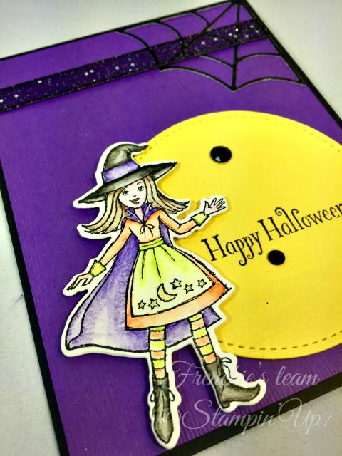 Card, Cauldron Bubble, Cauldron Framelits Dies, Halloween, Witch